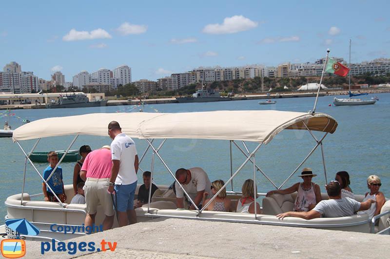 Navette en bateau de Ferragudo à Portimao