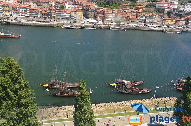 Barcos Rabelos à Porto