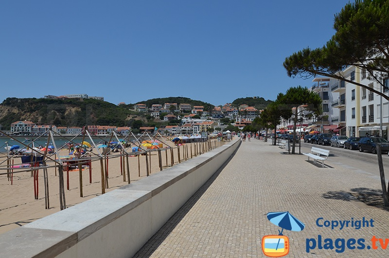 Bord de mer de Sao Martinho do Porto