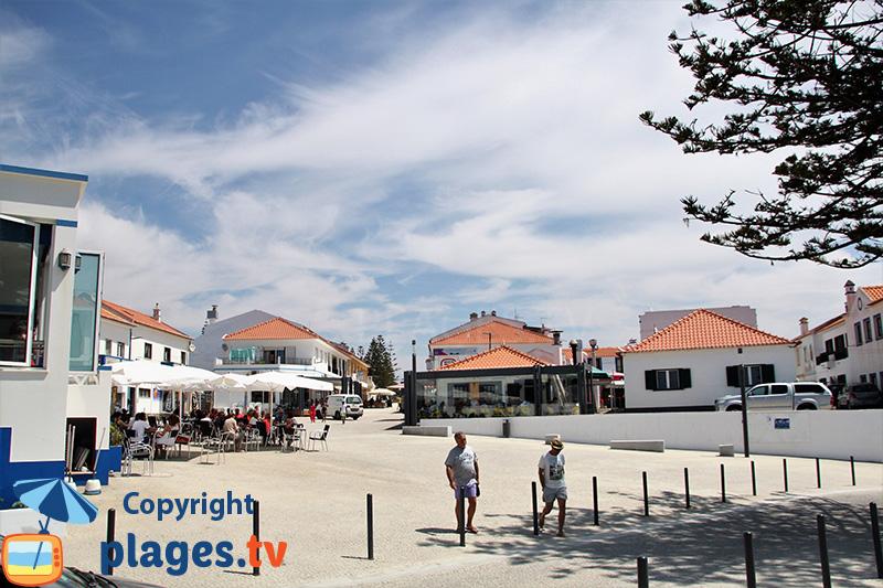Centre ville de Zambujeira do Mar - sud-ouest du Portugal