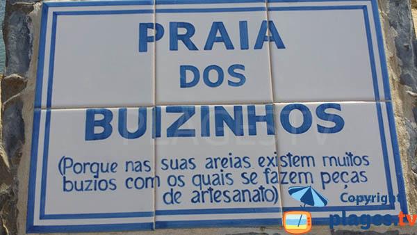 Origine de la plage de Buizinhos au Portugal - Porto-Covo