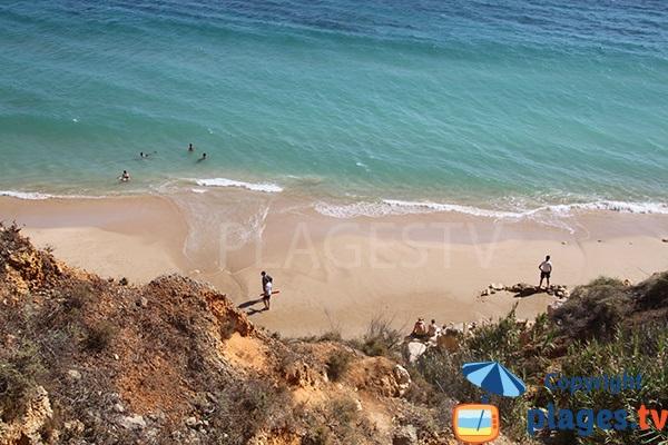 Photo de la plage de Canavial à Lagos au Portugal