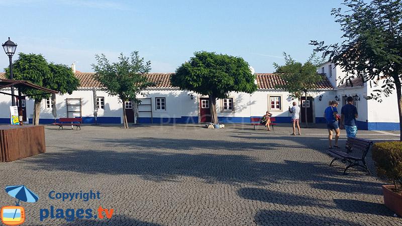 Porto Covo et ses maisons de pêcheurs