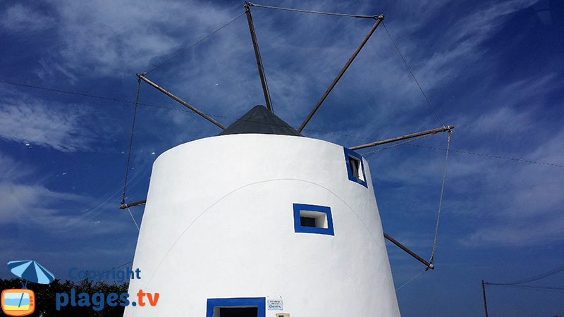 Moulin à Zambujeira do Mar