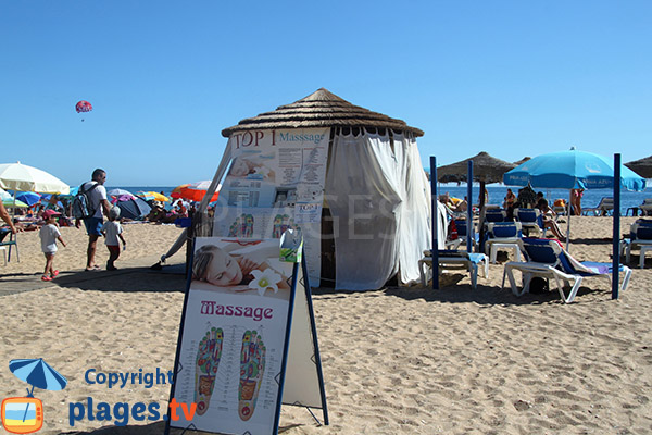 Massage sur la plage Alemaes - Albufeira