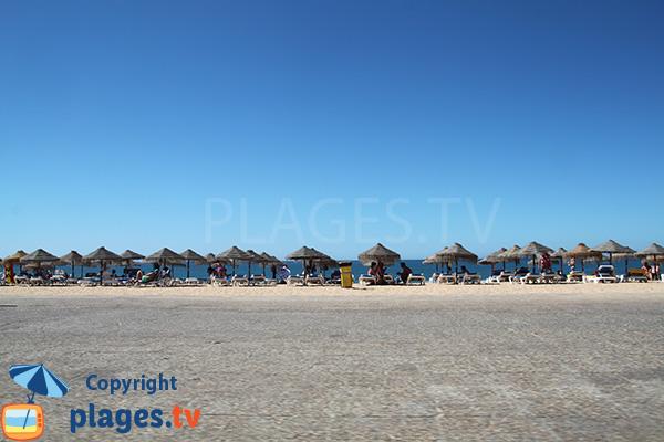 Photo de la plage Allegre à Quarteira au Portugal
