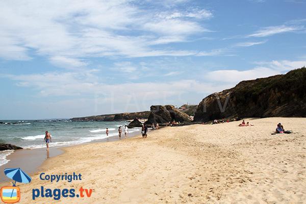 Plage d'Almograve Sul au Portugal