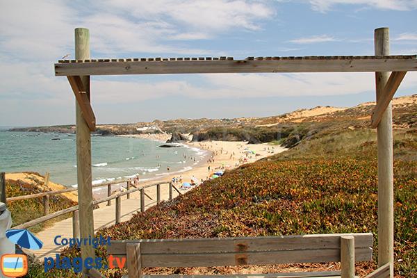 Dunes et plage d'Almograve Sul - Portugal