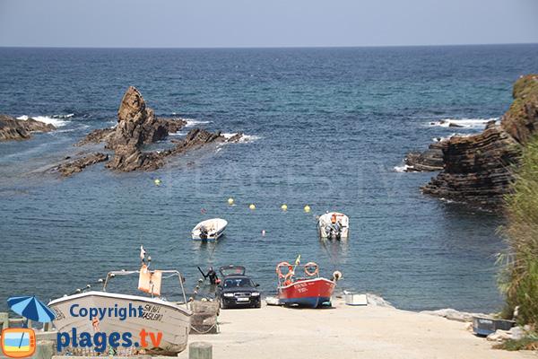 Port de pêche d'Almograve - Portugal