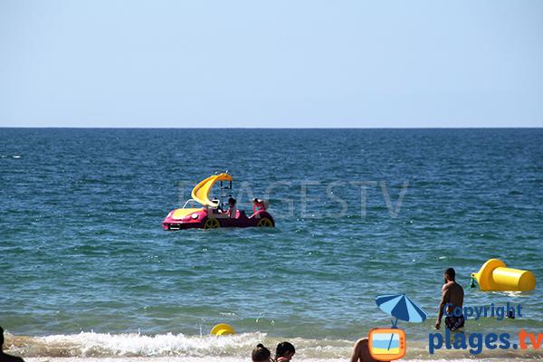 Pédalos sur la plage d'Alvor - Portimao