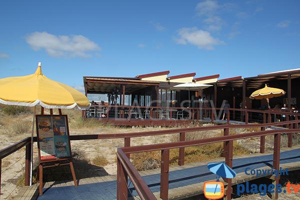 Restaurant sur la plage Alvor à Portimao