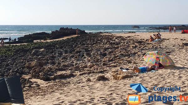 Plage avec quelques rochers à Aljezur - Armoreira