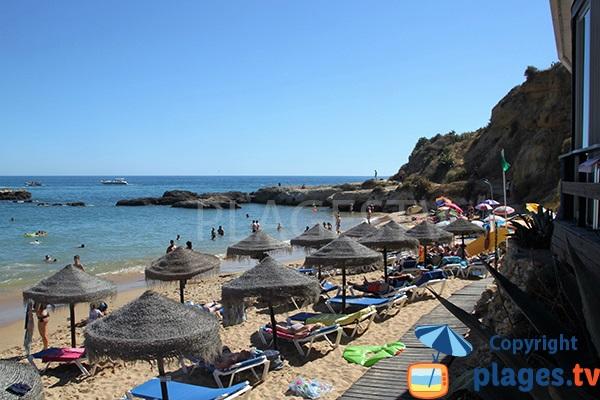 Photo de la plage Aveiros à Albufeira - Portugal