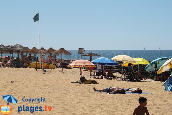 plage Azul à Quarteira au Portugal