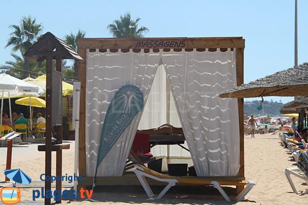 Massage sur la plage Azul à Quarteira