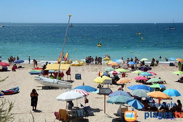 Zone surveillée de la plage de Barranco das Canas - Portimao