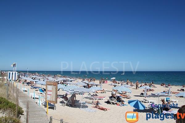Photo de la plage de Barril au Portugal