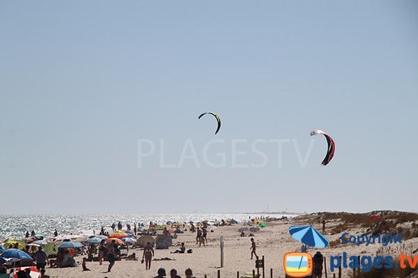 plage de Barril sur l'ile de Tavira - Portugal