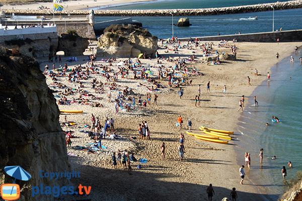 Photo de la plage de Batata à Lagos - Portugal