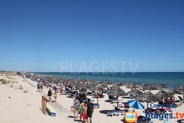 Photo de la plage de Cabanas au Portugal