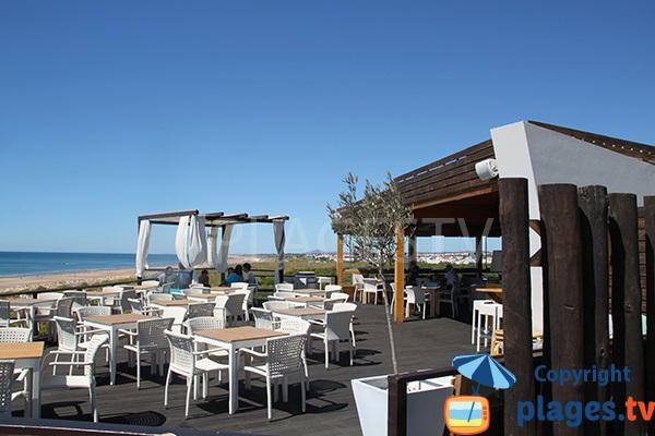 Restaurant sur la plage de Cabeco - Castro Marim