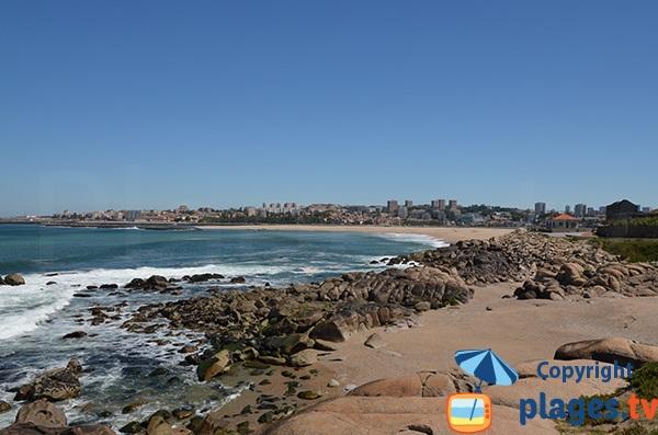 Photo de la plage de Cabedelo à Vila Nova de Gaia - Portugal