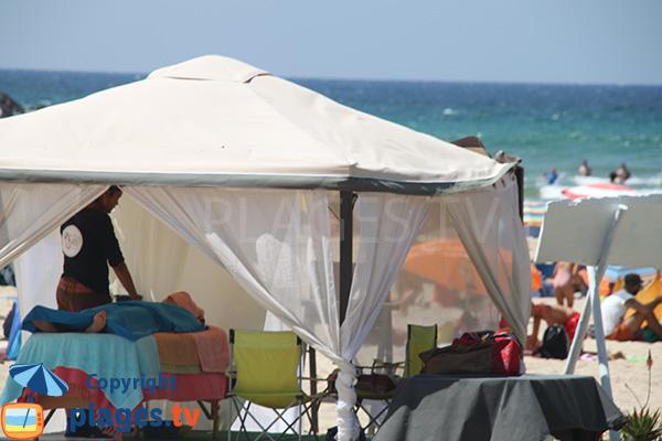 Massage sur la plage de Carvalhal