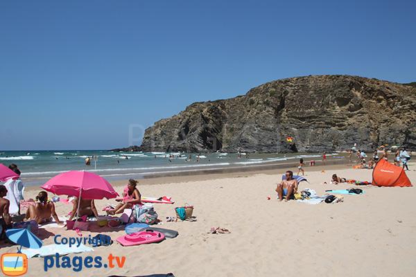 Photo de la plage de Carvalhal à San Teotonio - Portugal