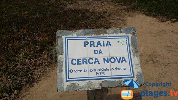 Praia de Cerca Nova - Porto Covo