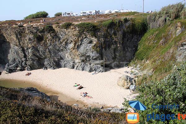 Belle crique à Porto Covo - Portugal