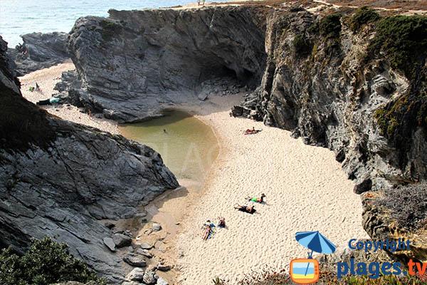 Photo de la crique d'Espingardeiro à Porto Covo - Portugal