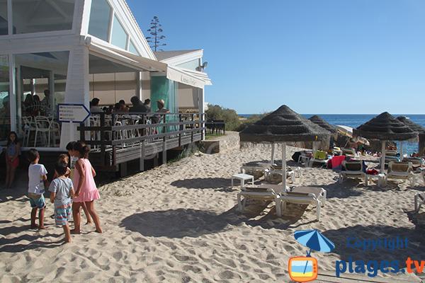 Bar restaurant - plage de do Evaristo à Albufeira