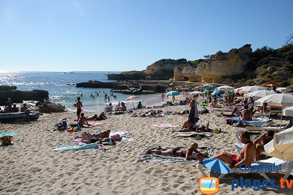Photo de la plage do Evaristo à Albufeira - Portugal