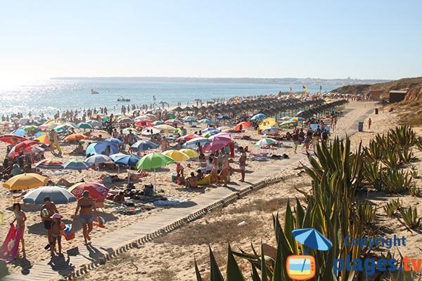 Belle plage au sud du Portugal