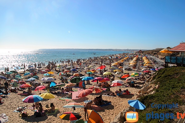 Photo de la plage de Galé à Albufeira - Portugal