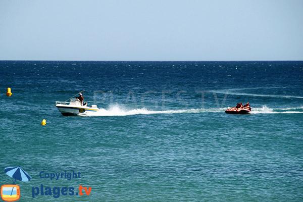 Sports nautiques sur la plage de Luz - Lagos