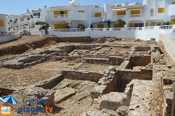 Ruines romaines à Luz - Lagos