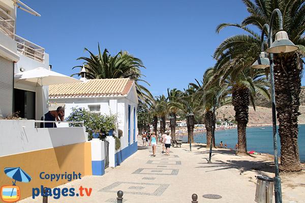 Bord de mer à Luz avec de jolies maisons - Portugal