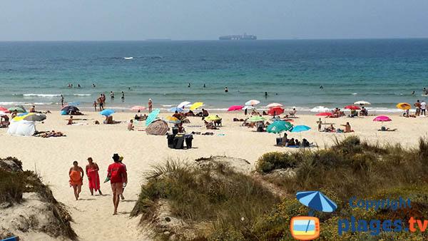 Photo de la plage de Morgavel à Sines - Portugal