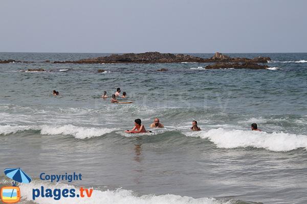 Bodyboard sur la plage de Nossa Senhora à Almograve