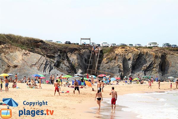 Photo de la plage de Nossa Senhora à Almograve - Portugal