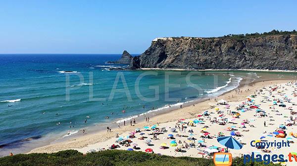 Photo de la plage d'Odeceixe au Portugal