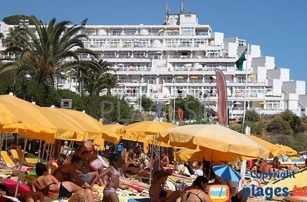 Résidence touristique à proximité de la plage d'Oura à Albufeira - Sud du Portugal
