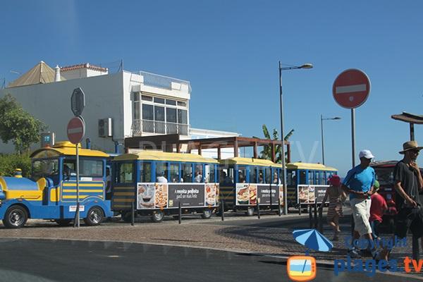 train touristique à Albufeira - Portugal