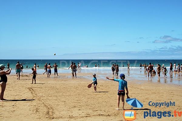 plage de Prainha Hantero à Portimao à marée basse