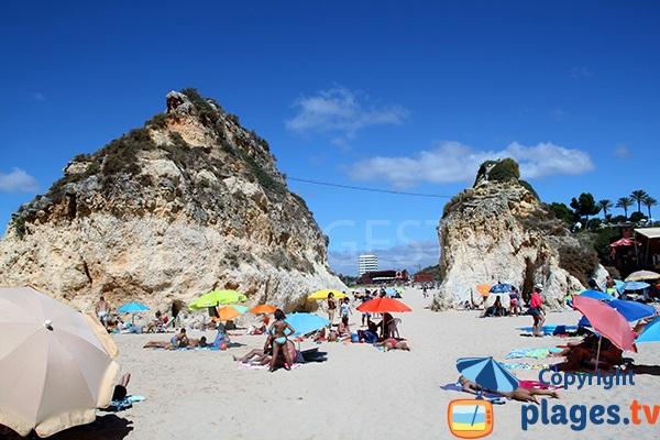 Accès à la plage de Tres Irmanos depuis celle de Hantero