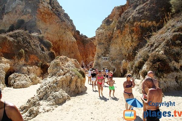 Liaison entre les plages de Portimao