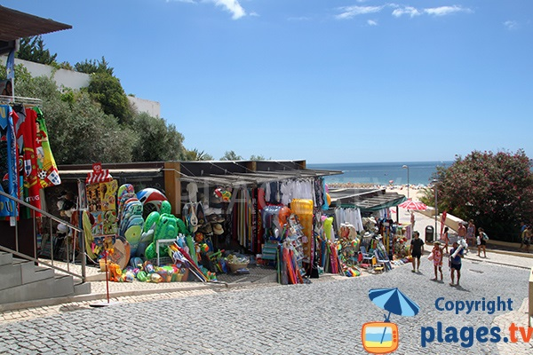 Magasins de plage - Portimao, Praia da Rocha