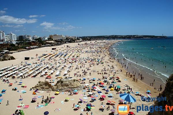 Praia da Rocha a Portimao - Portugal