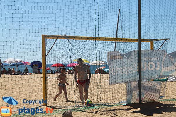 Beach soccer - plage de Rosa Branca à Quarteira